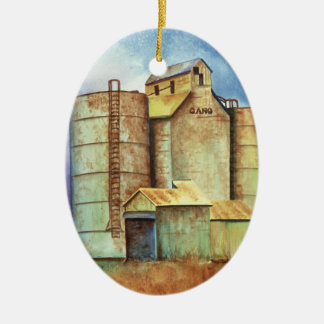 Kansas - Milepost Gano Christmas Ornament