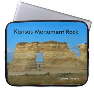 Kansas Monument Rock Lap Top Sleeve Laptop Sleeve