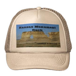 Kansas Monument Rock Truckers Hat