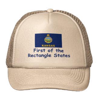 Kansas Motto Mesh Hats