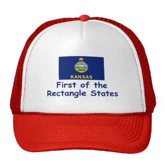 Kansas Motto Trucker Hats