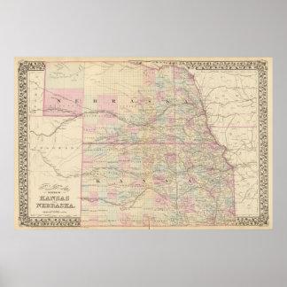 Kansas, Nebraska Poster