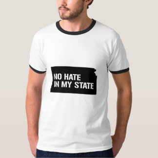 Kansas: No Hate In My State T-Shirt