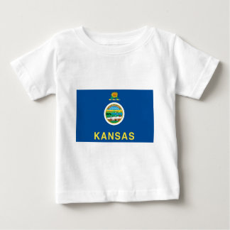 Kansas  Official State Flag Baby T-Shirt
