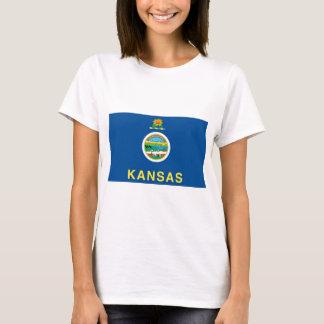 Kansas  Official State Flag T-Shirt