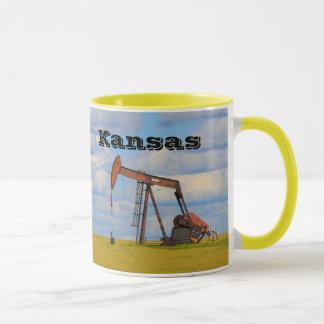 Kansas Oil Well Pump Coffee Mug