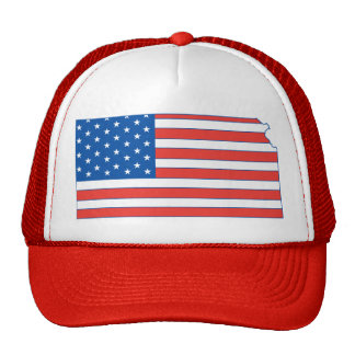 Kansas Patriotic Hat