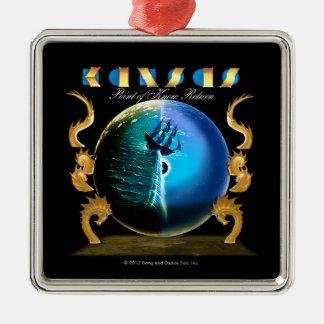 KANSAS - Point of Know Return (2007) Christmas Ornament