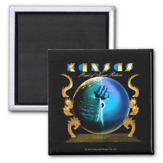 KANSAS - Point of Know Return (2007) Square Magnet