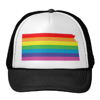 kansas pride. striped. cap