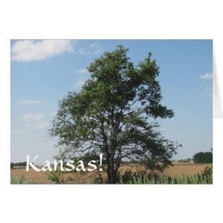 Kansas Proud Card