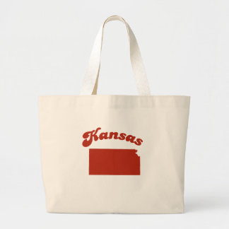 KANSAS Red State Canvas Bags