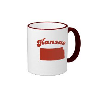 KANSAS Red State Mug