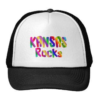 Kansas Rocks Mesh Hat