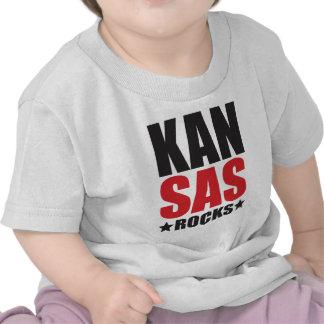 Kansas Rocks State Spirit Gifts and Apparel Tshirts