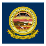 Kansas Seal Poster