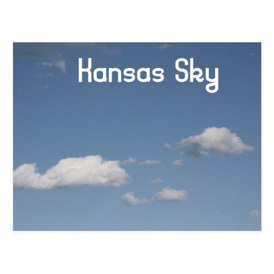 Kansas Sky Postcard