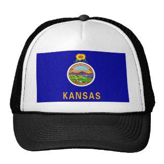 Kansas State Flag Mesh Hats