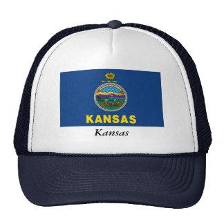 Kansas State Flag Trucker Hat