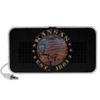 Kansas State Gifts PC Speakers