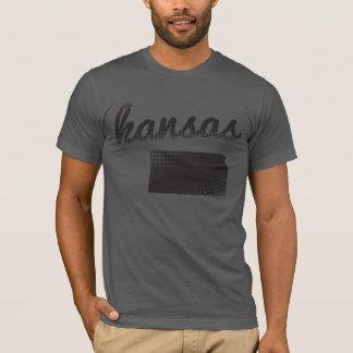 Kansas State on Grey T-Shirt