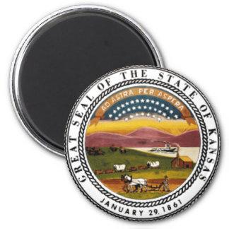 Kansas State Seal Magnet