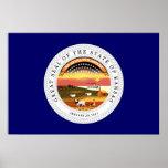 Kansas State Seal Poster