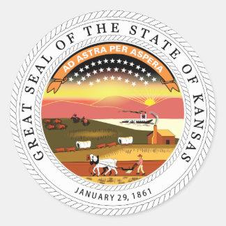 Kansas State Seal Sticker