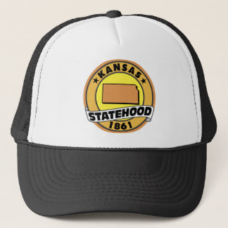 Kansas Statehood Trucker Hat