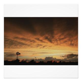 Kansas Stormy Night  Photo Enlargment