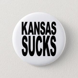 Kansas Sucks 6 Cm Round Badge