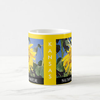 Kansas Sunflower Coffee Mug