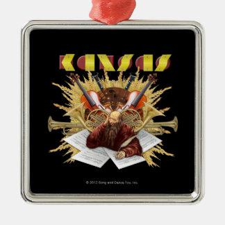 KANSAS - Symphony Logo Christmas Ornament