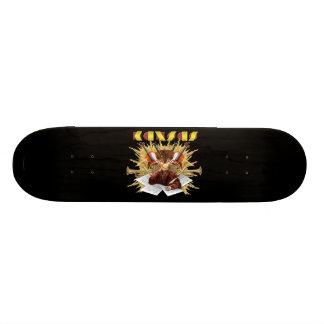 KANSAS - Symphony Logo Skate Board