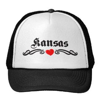 Kansas Tattoo Trucker Hat