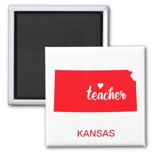 Kansas Teacher Magnet