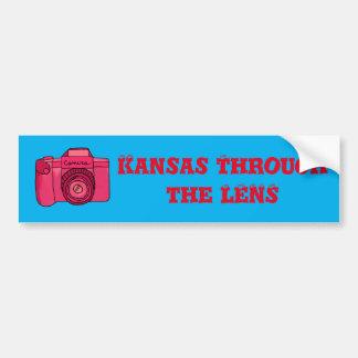 Kansas Through the Lens Bumper Sticker