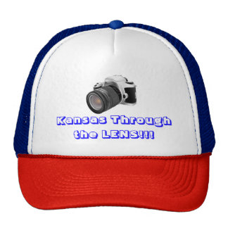 Kansas Through the LENS Truckers Hat