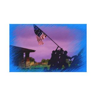 Kansas US Soldiers Canvas