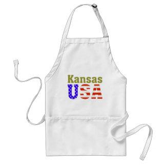 Kansas USA! Adult Apron