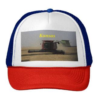 Kansas Wheat Harvest Truckers Hat