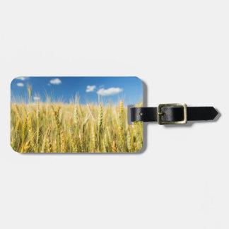 Kansas Wheat Luggage Tag