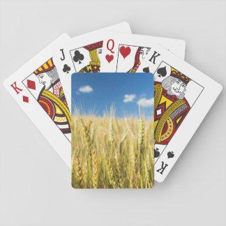 Kansas Wheat Playing Cards