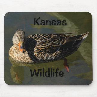 Kansas Wildlife Mouse Pad!! Mouse Mat
