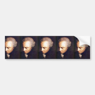 kant bumper sticker