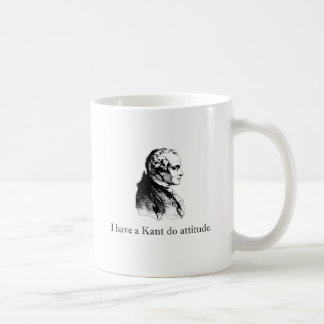 Kant Do Attitude Basic White Mug
