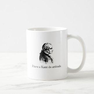 Kant Do Attitude Mugs