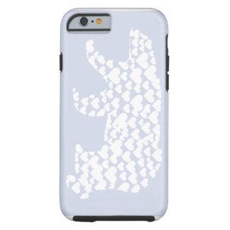 Kantno Polar Bear Hearts Tough iPhone 6 Case