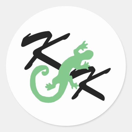 Kanweienea Kreations Classic Round Sticker