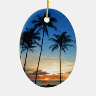 Kapaa Kauai Hawaii Christmas Ornament
